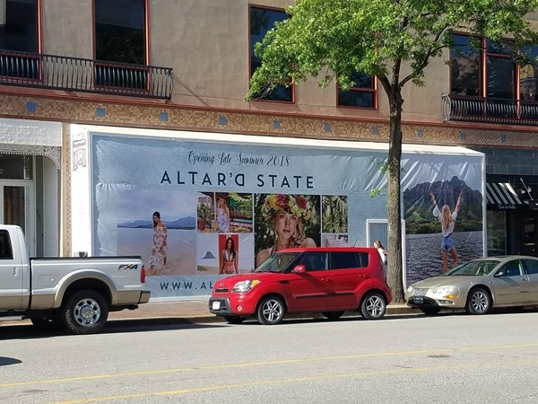One of my favorite clothing stores, Altar'd State, coming soon to Country Club Plaza
