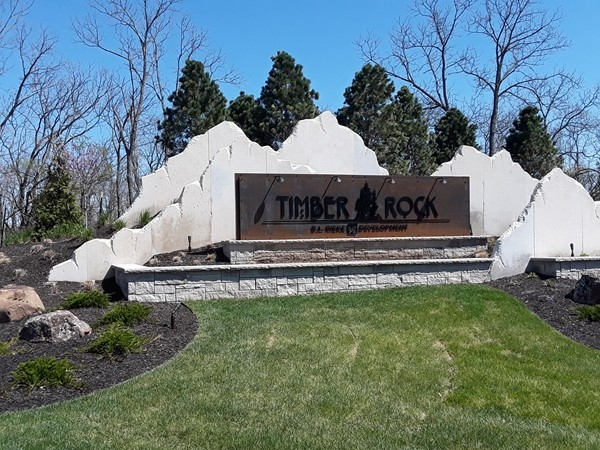 Welcome to Timber Rock community in Lenexa