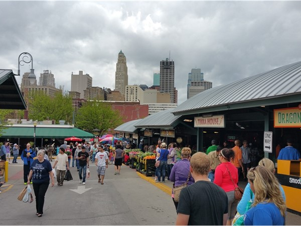 Saturday morning at the Farmers' Market! Downtown is conveniently close to the Northland
