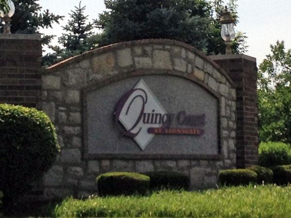 Quincy Court Subdivision