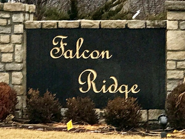 Welcome to Falcon Ridge Subdivision