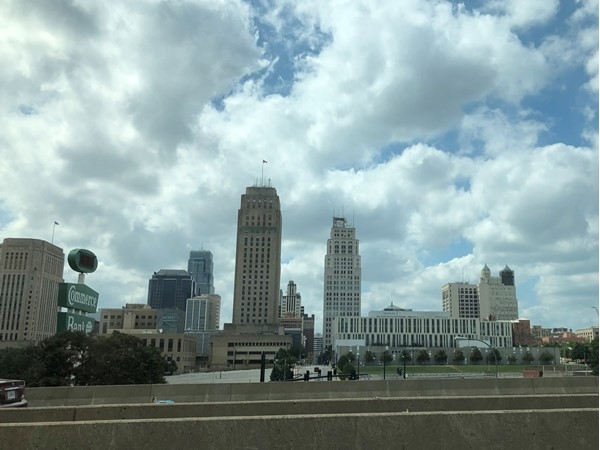 Nothing beats our city's pretty skyline...such old, historic buildings along with new ones. Love KC