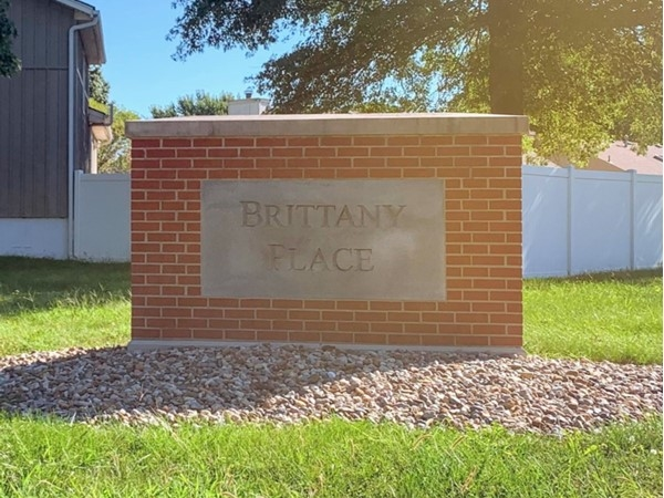Entrance to Brittany Place from Roanoke