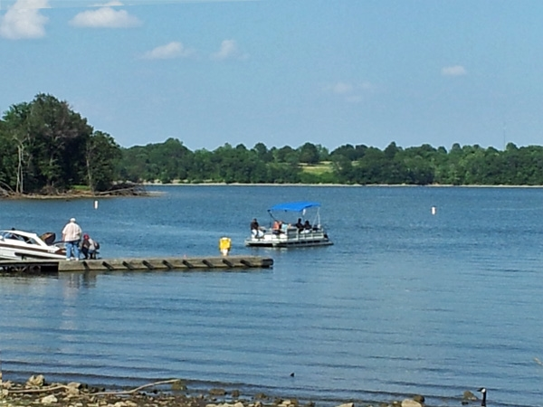 Longview Lake was built by the Army corps of engineers as part of flood control. Boat, fish, swim!
