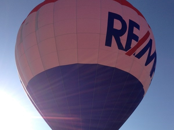 The RE/MAX balloon made an appearance at Alexander Doniphan in Liberty