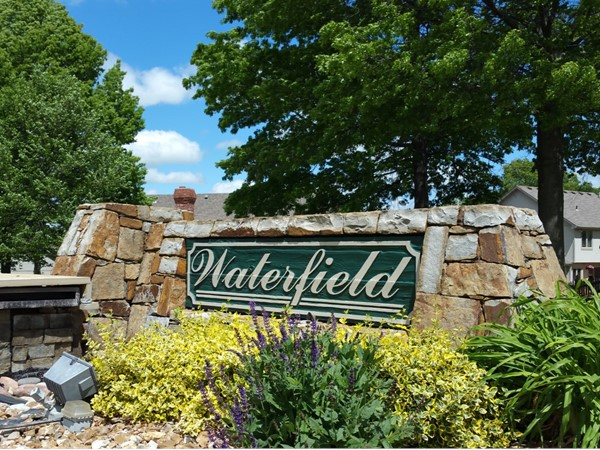 Entrance to Waterfield
