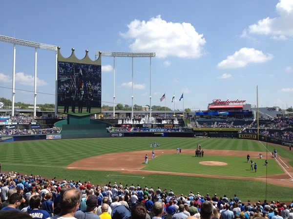 Go Royals! Let's play ball