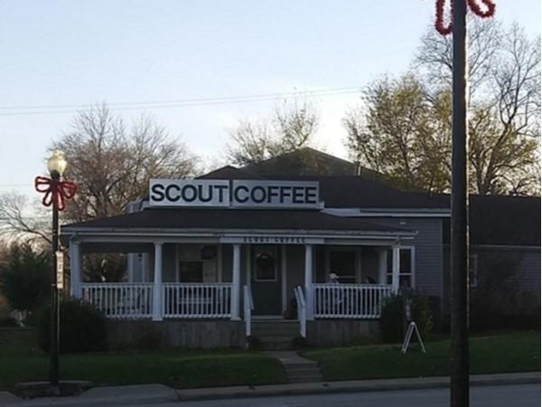 Cute coffee shop on Main Street in Blue Springs