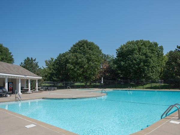 Neighborhood pool for Bentwood Crossing and Bentwood Park. Rodrock Communities