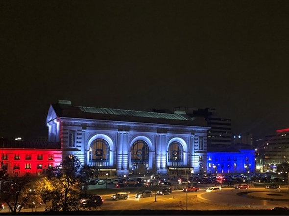 Union Station on Veterans Day 2018. I love our beautiful city