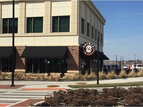 Enjoy great food, fun and sports at Saints Pub and Patio in Lenexa City Center