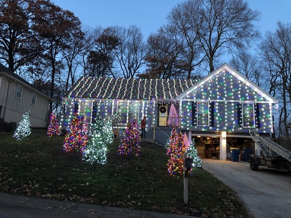 This is awesome!  How many lights?