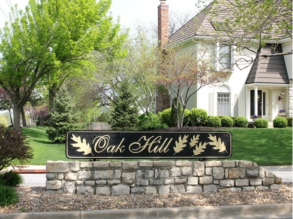 Oak Hill gives one a warm sense of neighborhood