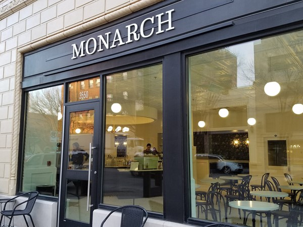 Monarch Coffee on Broadway is one of my favorite spots to meet up with friends and clients