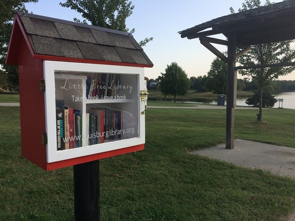 Little Free Library. Take a book, leave a book