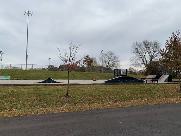 Did you know Liberty had a Skateboard Park?  It's located in Bennett Park