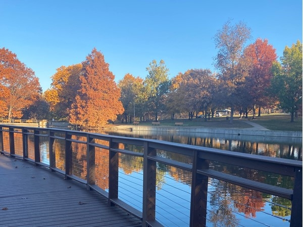 Beautiful fall day at Antioch Park