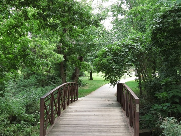 Connect to the Indian Creek Trail at the Indian Creek Recreation Center