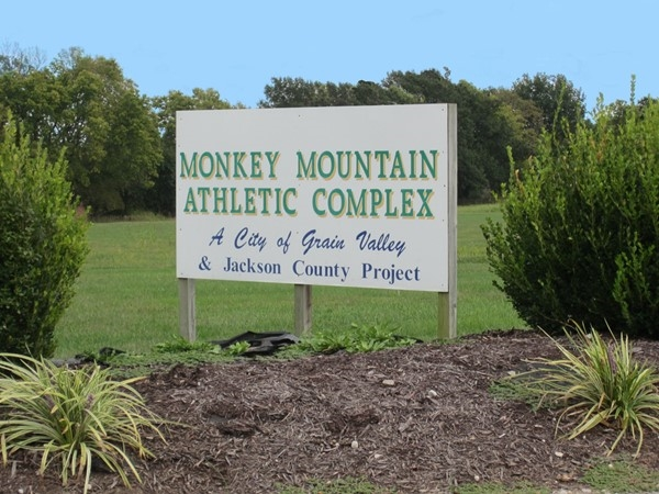 Entrance to Monkey Mountain Athletic Complex