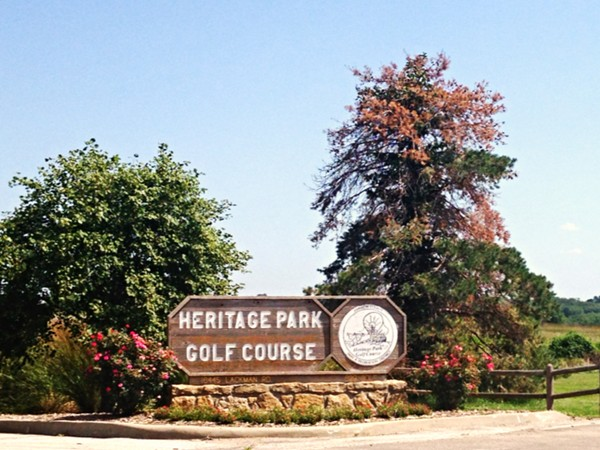 Heritage Park includes a beautiful golf course and driving range