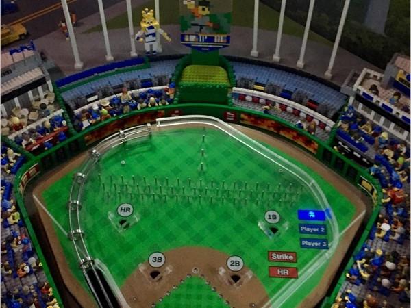 "Lego Kauffman Stadium, ""Go Royals!"""