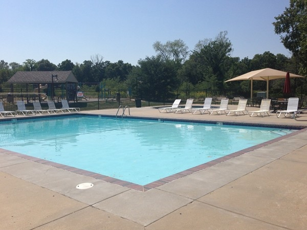 One of three neighborhood pools in the Riss Lake Community.