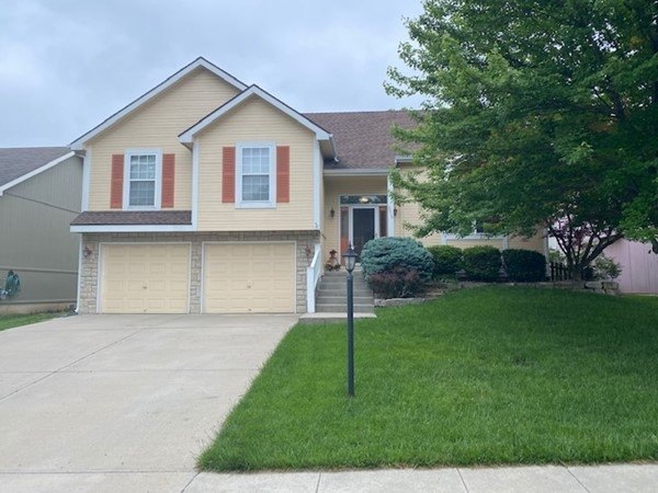 A typical 4 bedroom, 3 bath, split level home