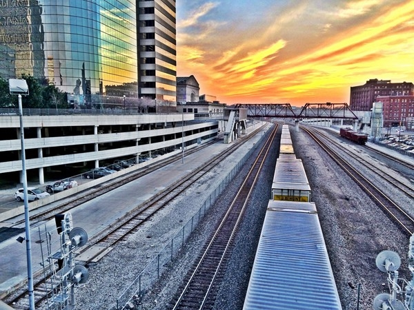 Kansas City is one of the busiest railroad hubs in the country