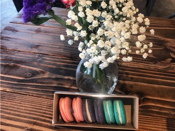 This corner spot is absolutely full of goodies and these Macaroons did not disappoint