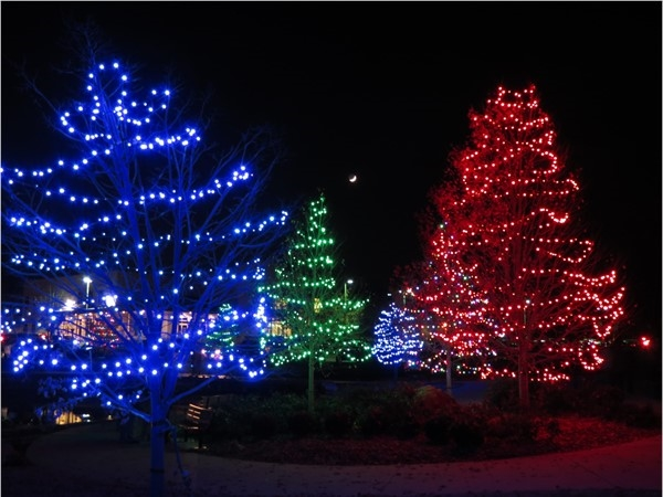 A clear night for the annual Sar-Ko Aglow event in Lenexa