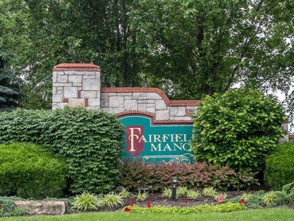 Welcome to Fairfield Manor Subdivision in Overland Park