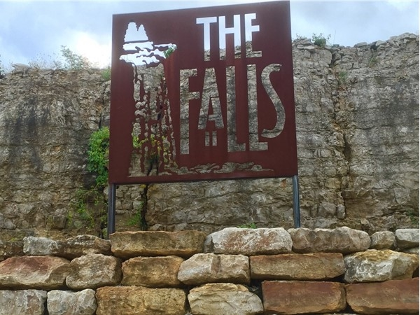 The Falls is located off of 291 and 40 Highway