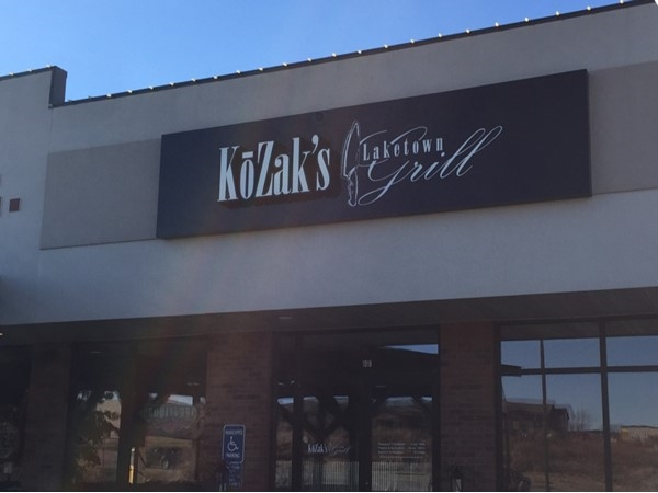 Enjoy great eats at KoZak's