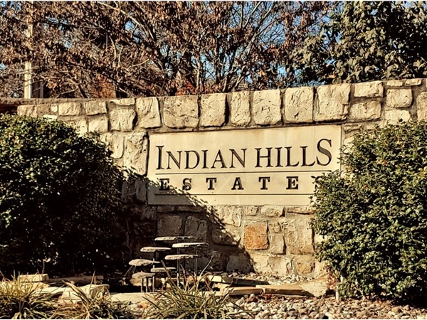 Indian Hills Estates is a beautiful neighborhood in Blue Springs