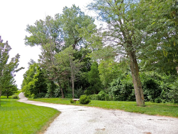 Beautiful walking trail near Bridlewood