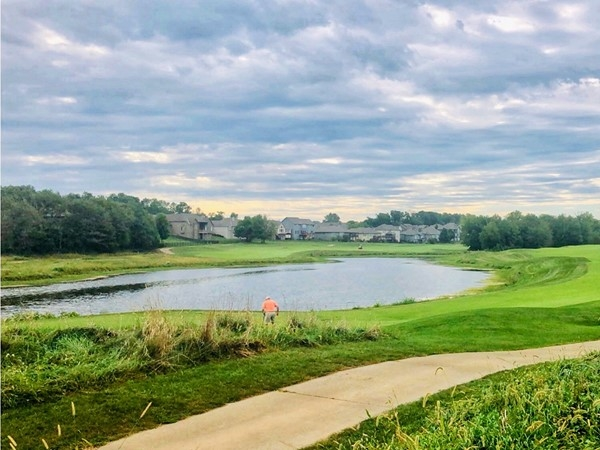 Beautiful shot of Prairie Highlands golf course - Olathe, KS