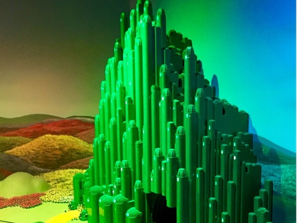 "Lego Emerald City from the ""Wizard of Oz"""