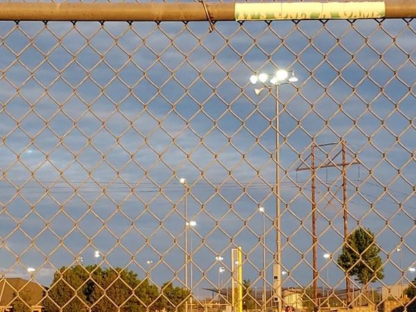 Ballpark in Desota. Batter up