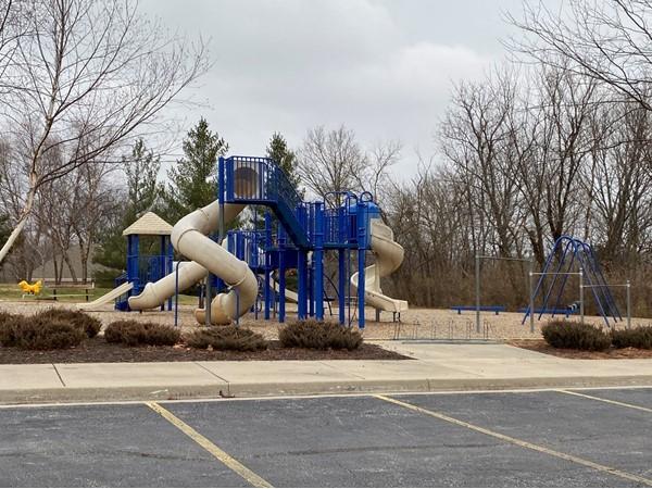 Winterset Park playground.