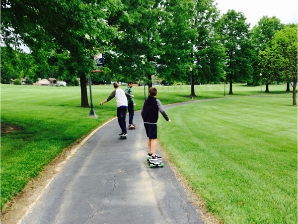 Blue Springs has many walking and riding trails to enjoy