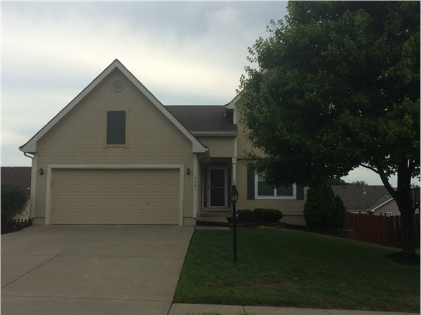 A 1.5 story home in Southwind