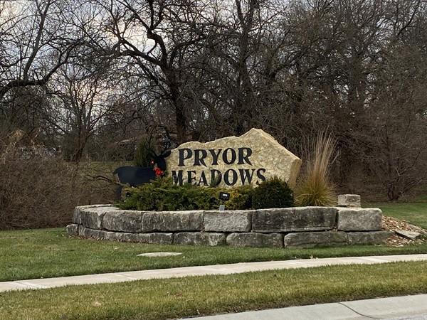 Pryor Meadows entrance