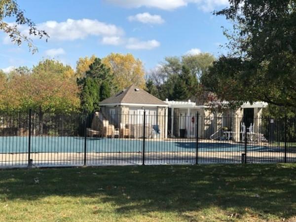 Area pool at Crimson Ridge