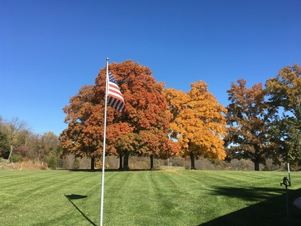 Beautiful fall colors in Platte County
