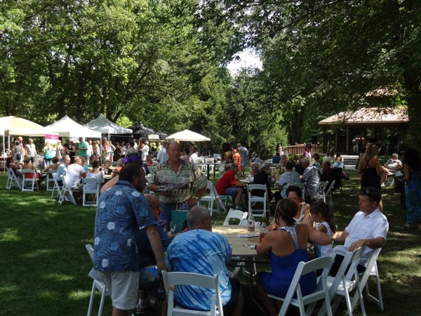 Wine Fest at the Elms! Such a special event we look forward to each year!