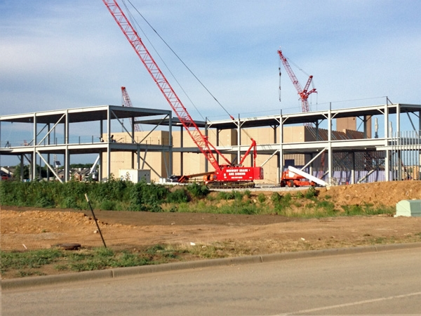 Lots of activity at Prairiefire at Lionsgate Development