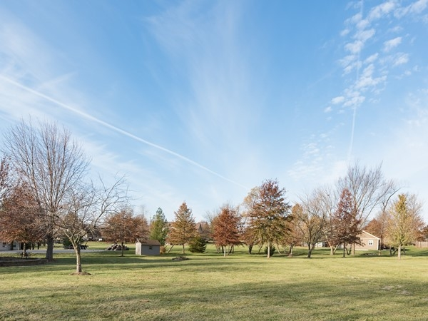 Acreage lots in Executive Estates Olathe KS
