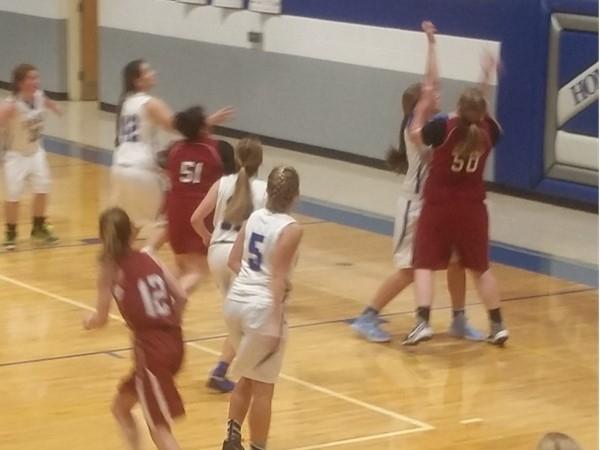 Eagles Girls Basketball is in full swing