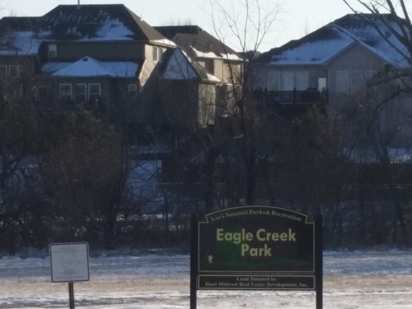 Eagle Creek Park entrance