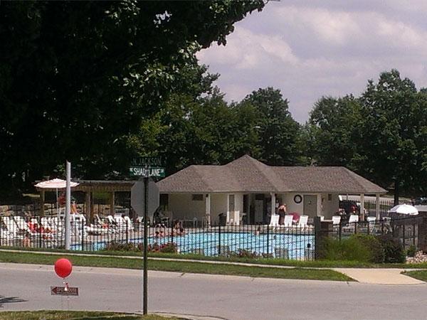 Carriage Hill's beautiful neighborhood pool